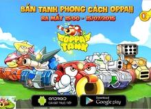 """Game """"Gunbound"""" Oppa Tank mở cửa ngày 15/7 tại Việt Nam"""