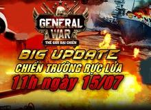 Tặng 300 Gift Code General War nhân dịp Big Update
