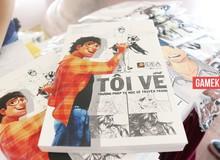 """Sách dạy vẽ truyện tranh Việt - Tôi Vẽ """"cháy hàng"""" trong ngày ra mắt"""