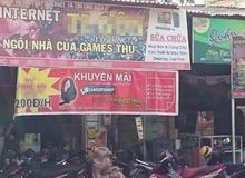 Quán Net ngang nhiên quảng cáo tool hack Liên Minh Huyền Thoại