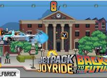 Jetpack Joyride ra mắt phiên bản mới phong cách Back to the Future