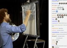 64,000 game thủ chen nhau xem... vẽ tranh trên kênh stream game