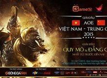 Đại chiến AoE Việt Trung: Lịch thi đấu chính thức ngày 12/11