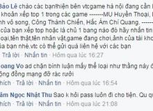 """VTC Game phủ nhận việc """"truy tìm"""" các game thủ top server tại Việt Nam"""