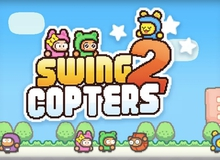 Cha đẻ Flappy Bird ra mắt game mới Swing Copters 2