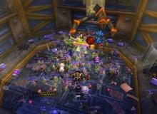 Choáng với 2500 game thủ rủ nhau diễu hành làm sập cả server