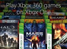 Xbox One dùng phần mềm giả lập để chơi game Xbox 360