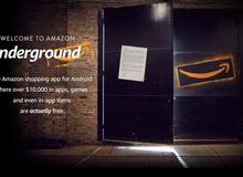 Amazon Underground: Ứng dụng tập hợp game và phần mềm hay miễn phí
