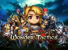 Wonder Tactics - Tân binh nhập vai chiến thuật gây sốt trên Android