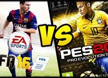 PES 2016 và FIFA 16 - Kẻ nào xứng đáng ngôi vương game bóng đá?