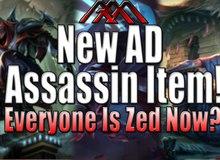 """Liên Minh Huyền Thoại: Item mới cho Sát Thủ Vật Lí đang """"Lên sàn"""", liệu tất cả là Zed?"""