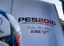 PES 2016 sẽ được công bố vào ngày 12/6
