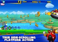 Sonic Runners - Huyền thoại nhím xanh chính thức xuất đầu lộ diện