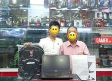 Ghen tị với game thủ được ông nội dẫn đi mua laptop gaming khủng