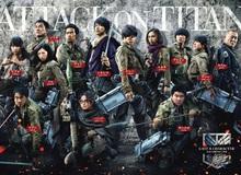 Phim Live-action Attack On Titan công bố trailer mới cực hoành tráng