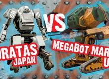 Robot Nhật Bản VS Robot Mỹ: Cuộc chiến của công nghệ và danh dự