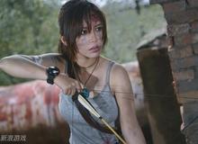 Lara Croft vẫn xinh đẹp dù thương tích đầy mình
