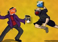 CSM ra phiên bản mới, quyết đấu GCafe tại quán net Việt