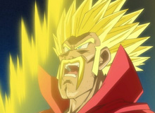 Hài hước Santa Tóc Xù hóa Siêu Saiyan trong anime Dragon Ball mới
