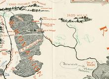 Xuất hiện bản đồ The Lord of the Rings cổ nhất từ trước đến nay