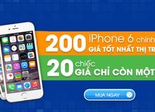 Cơ hội vàng mua iPhone 6 giá giảm một nửa trong tháng 10 cùng Muachung Plaza