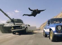 7 khoảnh khắc đỉnh nhất trong phim bom tấn Fast & Furious