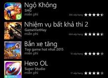 Game mới Ngộ Không Truyền Kỳ bất ngờ lên top 1 trên Windows Phone