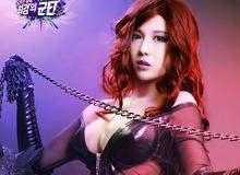 Cosplay nữ nhân vật gợi cảm trong HeroWarZ