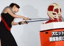 """""""Giết"""" Titan để bắt đầu cho lễ công chiếu Attack on Titan"""
