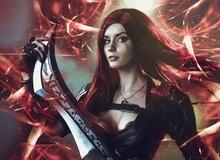 Cosplay Katarina trong Liên Minh Huyền Thoại đẹp hơn cả tranh vẽ