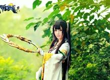Thiếu nữ xinh đẹp trong cosplay Thiên Nhai Minh Nguyệt Đao