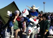 Lạ mắt với bộ cosplay Gundam tuyệt đẹp tại lễ hội truyện tranh