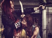 Tổng hợp cosplay Zombie không dành cho game thủ yếu tim
