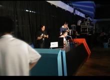 Cận cảnh khu vực casting của giải đấu DOTA 2 lớn nhất Đông Nam Á