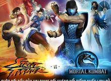 [Infographic] Đại chiến game đối kháng: Street Fighters và Mortal Kombat
