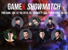 GameK ShowMatch 2015 (Lần 2): 8 Siêu Sao Liên Minh Huyền Thoại Việt Nam đã lộ diện