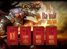 Đao Kiếm Phong Vân mở cửa đón game thủ ngày 25/3 tại Việt Nam
