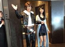 """Game thủ Nhật Bản mãn nguyện với đám cưới theo """"Final Fantasy VIII"""""""