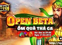 Tam Quốc Chí Mobile tặng 500 Giftcode nhân dịp Open Beta