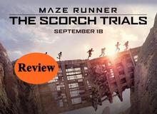 Đánh giá phim bom tấn Maze Runner trong ngày công chiếu