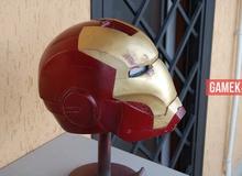 Hướng dẫn làm mặt nạ Iron Man để chơi trung thu