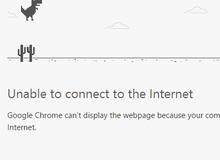 Chơi game khi mất mạng ngay trên trình duyệt Chrome