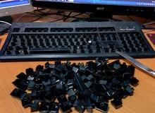 Hướng dẫn cọ rửa bàn phím máy tính cho game thủ
