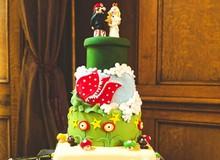 Những chiếc bánh game thủ nào cũng muốn có trong lễ cưới của mình