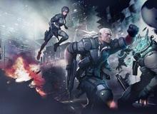 Gameplay hành động ấn tượng của Ghost in the Shell Online trên Steam