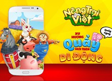 Nông Trại Việt - Game mobile thuần Việt sẽ ra mắt ngày mai 02/07