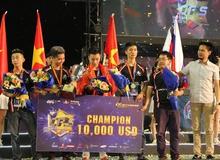 Việt Nam vô địch giải đấu Đột Kích quốc tế, giành giải hơn 200 triệu đồng