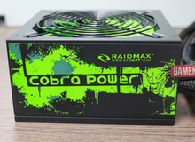 Trên tay Raidmax RX-500AFB: Nguồn xanh lá nổi bật cho game thủ