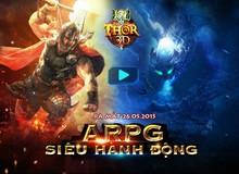 Game siêu hành động Thor 3D tung landing, ấn định 26/05 ra mắt