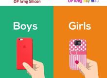 Con trai và con gái dùng smartphone khác nhau như thế nào?